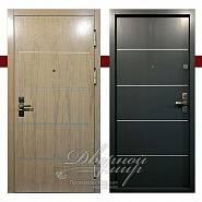 Триумф ДМ-577. Входная дверь МДФ с молдингом с двух сторон, замок CISA. в производственной компании Дверной Мир
